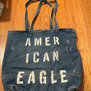 Denim American Eagle bag
